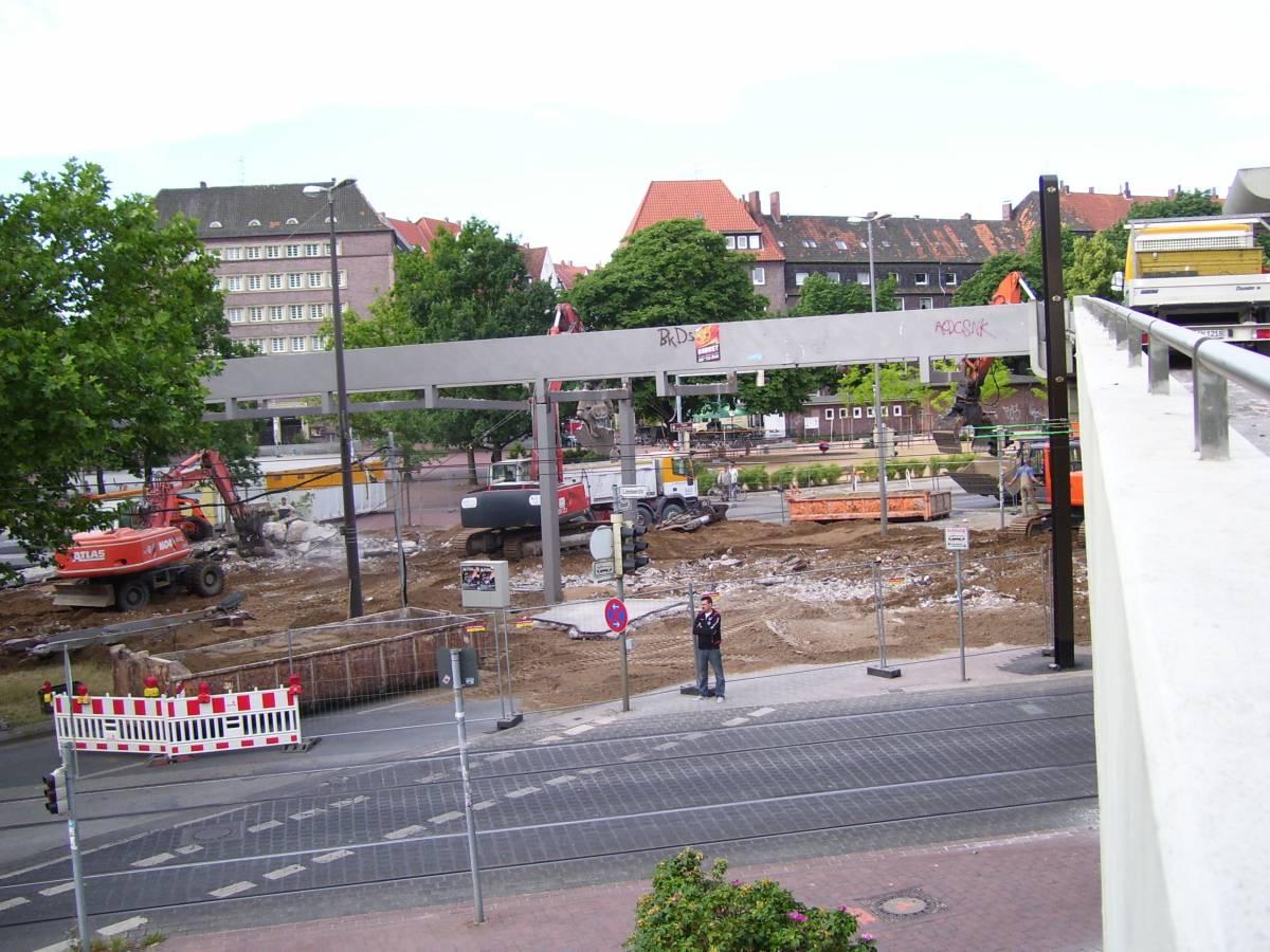 Am Kuchengarten Umfangreiche Bauarbeiten Im Kreuzungsbereich