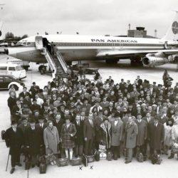 Flughafen Langenhagen 1970, Direktflug Hannover - New York