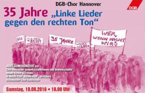 """35 Jahre """"Linke Lieder gegen den rechten Ton"""""""