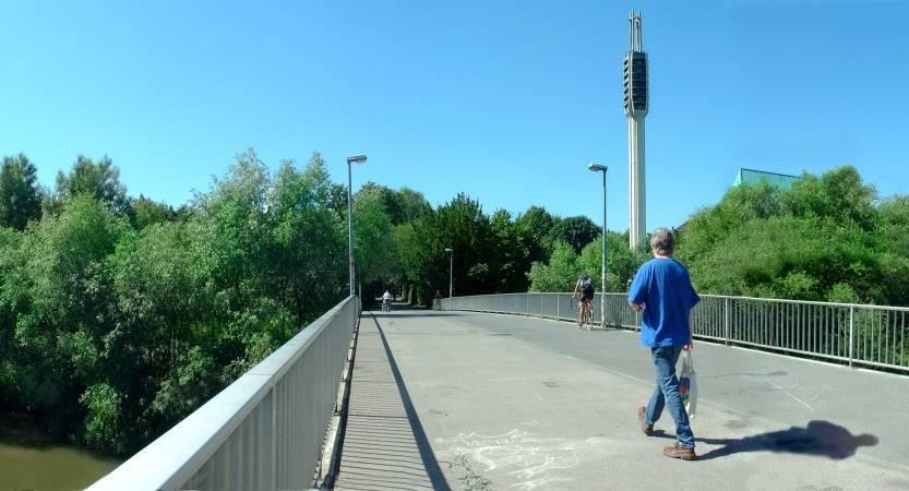 Dornröschenbrücke 2005