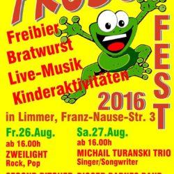 Froschfest 2016