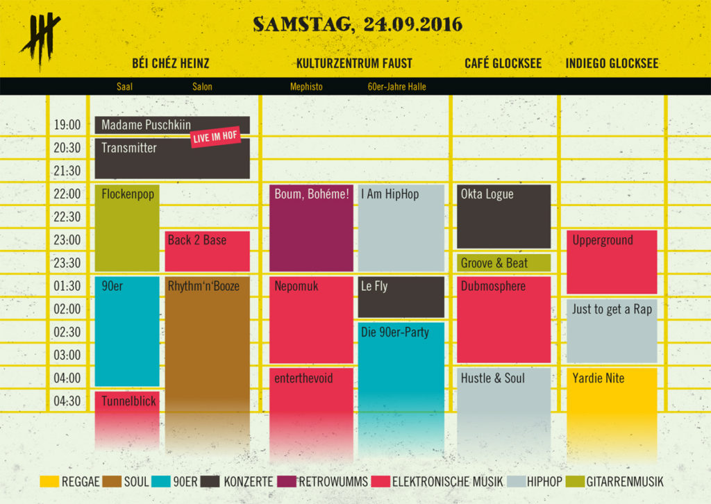 Timetable - If the Kiez is united...
