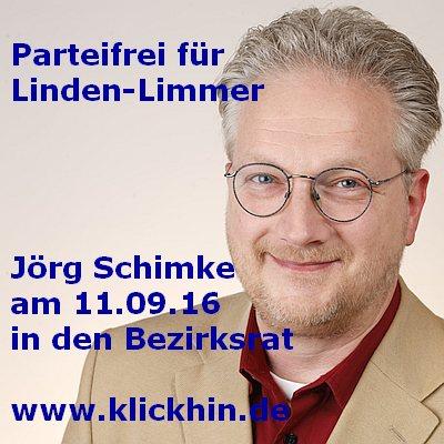 Jörg Schimke – Parteifrei für Linden-Limmer