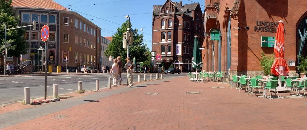 Lindener Marktplatz 2005