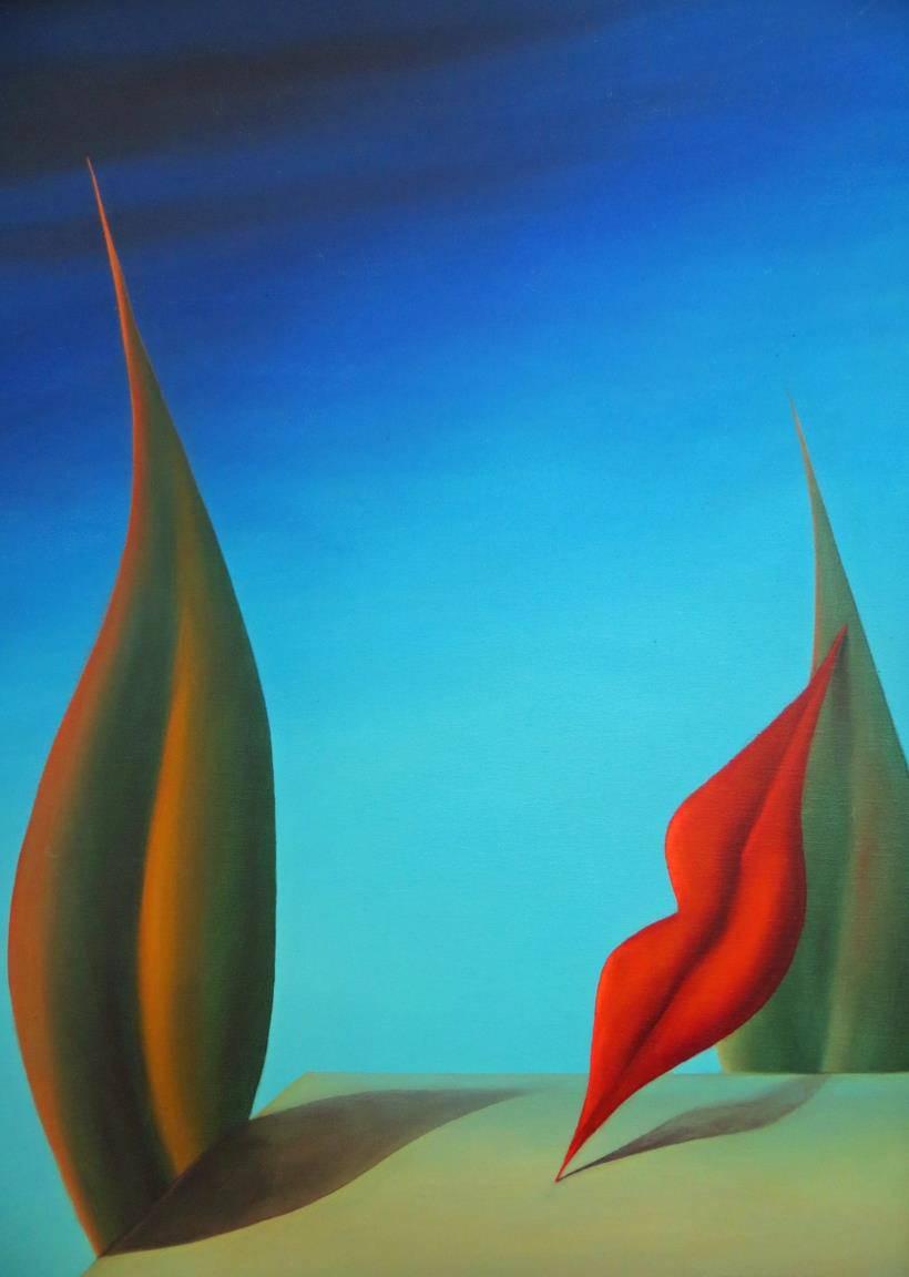 Ölmalerei von Hans-Jürgen Zimmermann
