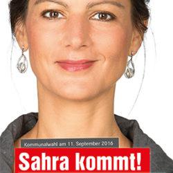 Sahra kommt!