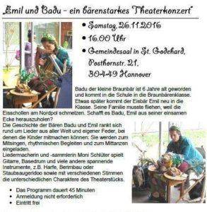 """Moni Schlüter """"Emil und Badu"""""""