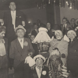 Kostümfest LSV Alexandria, 1954 (Bild: Archiv H. Deuker)