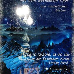 Silent Night - Weihnachtskonzert des Bethlehem-Chores