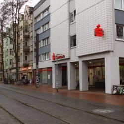 Kassenschalter der Sparkasse Limmerstraße wird geschlossen