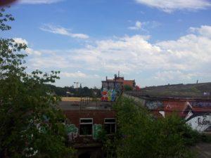 Filmaufnahmen vom Contidach