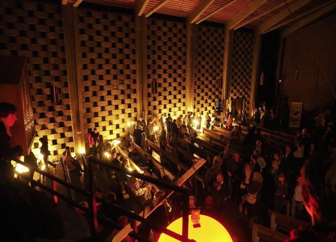 Lichtlagerfeuer von Franz Betz