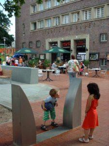Trinkwasserbrunnen auf dem Küchengarten (2006)