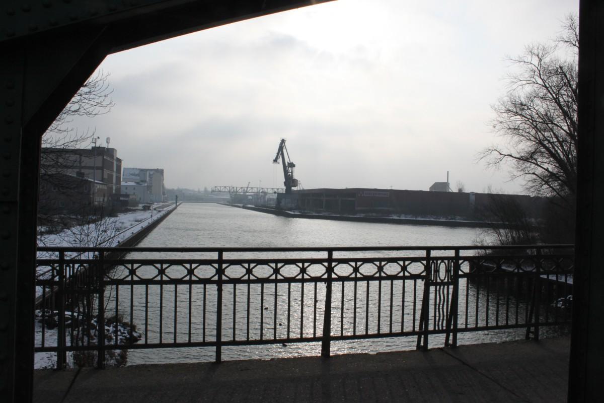 Lindener Hafen im Winter