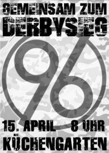 Gemeinsam zum Derbysieg - Bitte nicht wieder!