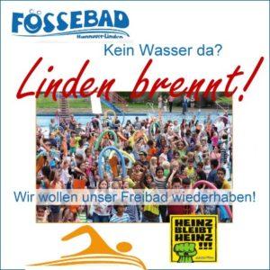 Fössebad - Kein Wasser da - Linden brennt