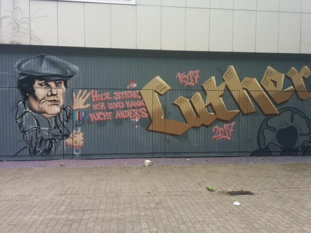 Graffiti: Martin Luther