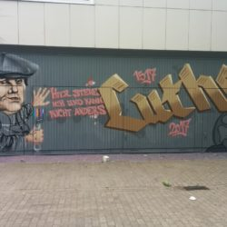 Graffiti: Martin Luther