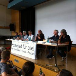 Einwohnerversammlung im Freizeitheim Linden