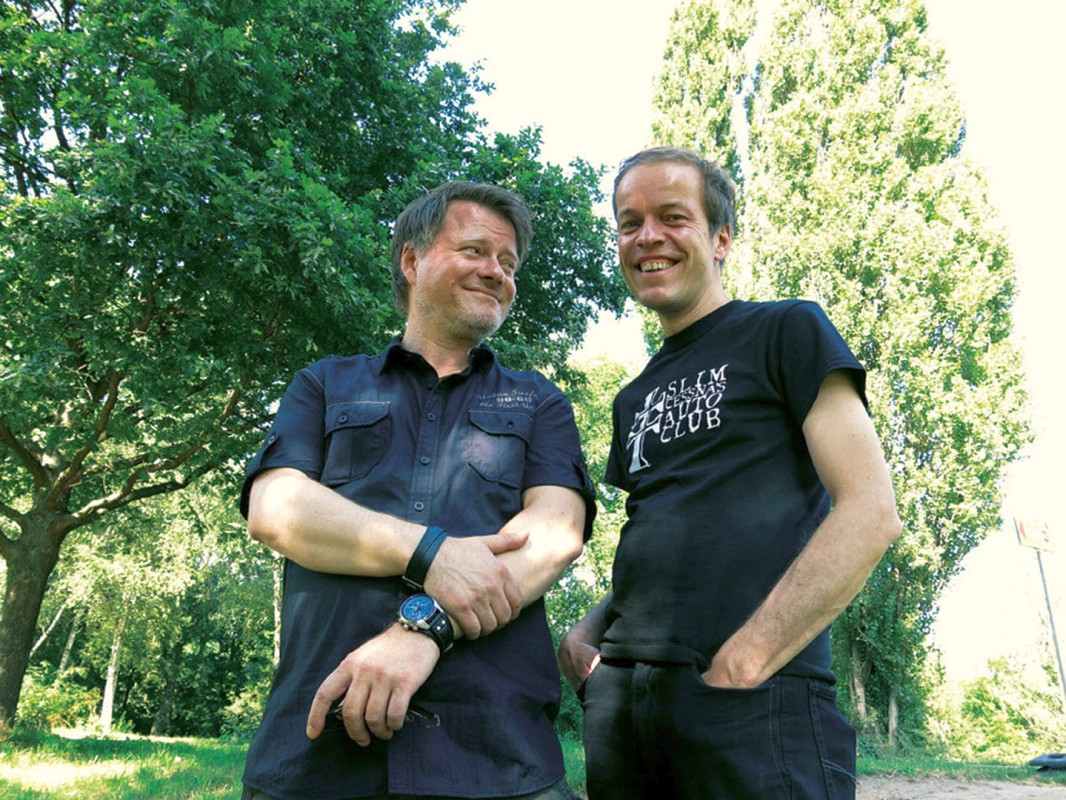 Hennimg Chadde und Jörg Smotlacha