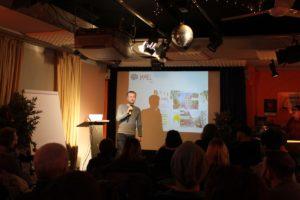 Oliver Thiele stellt den Jamiel-Kiez vor