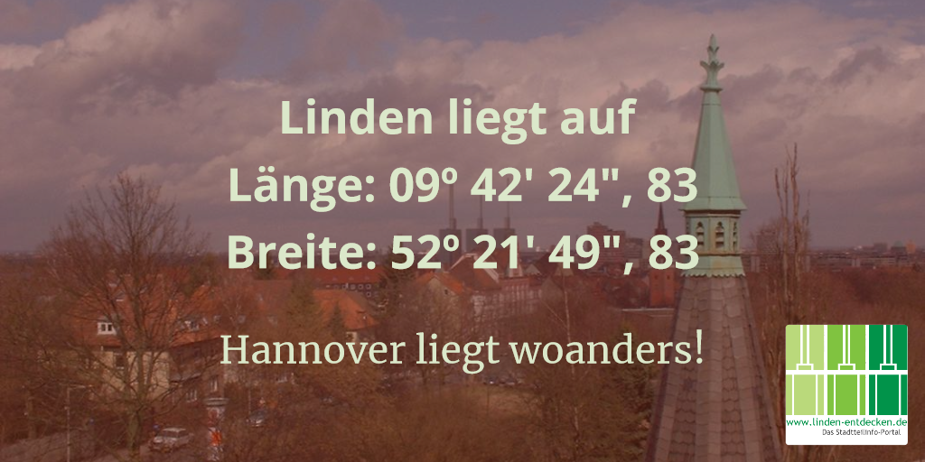 Hannover liegt woanders!