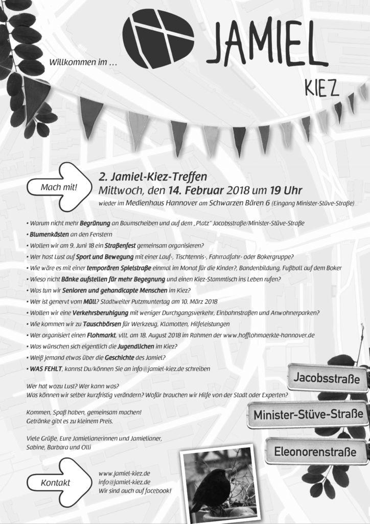 Jamiel-Kiez 2. Treffen Flyer
