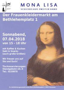Mona Lisa - Kleidermarkt