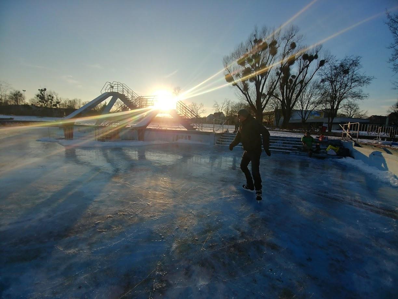 Eisbahn im Fössebad