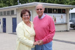 Kioskliebe: Liane und Christian Korbach