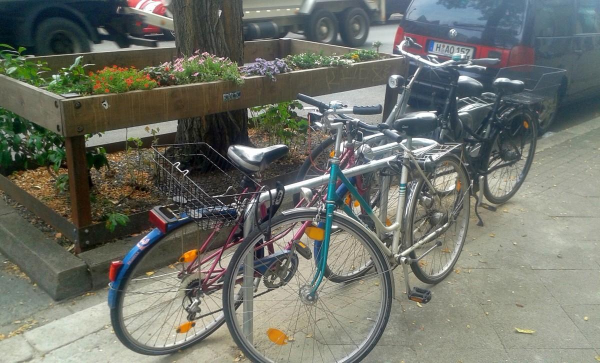 Fahrradbügel Deisterkiez