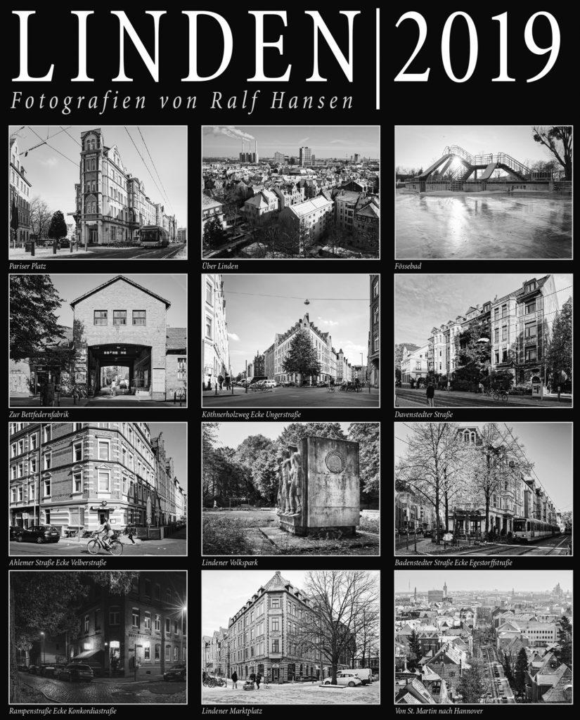Lindenkalender 2019 - Alle Seiten in der Übersicht