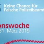 Aktionswoche Falsche Polizeibeamte