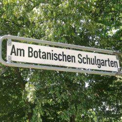 Am Botanischen Schulgarten