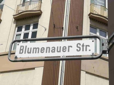 Blumenauerstraße