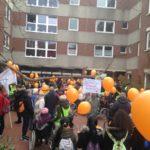 Protestmarsch zum Erhalt des Godehardistiftes