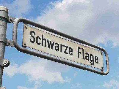 Schwarze Flage