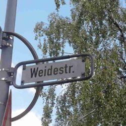 Weidestraße