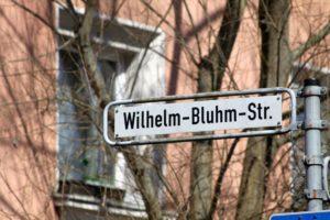 Wilhelm-Bluhm-Straße