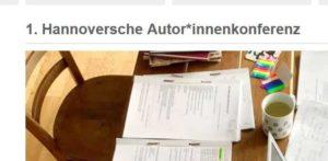 1. Hannoversche Autor*innenkonferenz