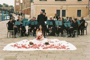 """Inferno"", Performance von Romina de Novillis, Opening Week Venice Biennale 2017"