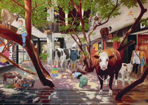 """Mall II"", Hartmut Kiewert, 2016"