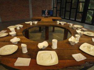 """""""Diners Club"""", Installation von Lenny Ratnasari Weichert"""