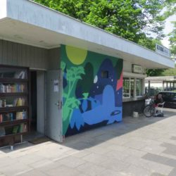 Kiosk Sporlederweg Bücherschrank