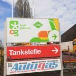 M1-Tankstelle