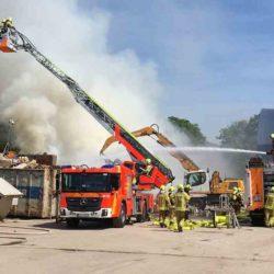 Feuerwehr Lindener Güterbahnhof