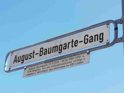 August-Baumgarte-Gang