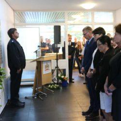 Gedenkveranstaltung zum Explosionsunglück Güterbahnhof Linden/Fischerhof