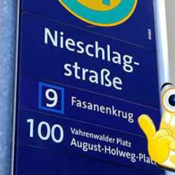 Nieschlagstraße Üstra Baustelle