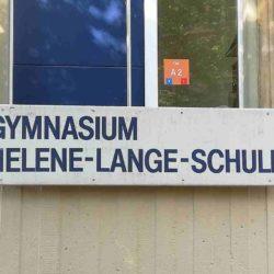 Helene-Lange-Schule Schild